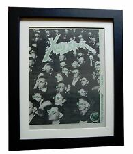 X-RAY SPEX+Day World Dayglow+POSTER+AD+ORIGINAL 1978+FRAMED+EXPRESS+GLOBAL SHIP