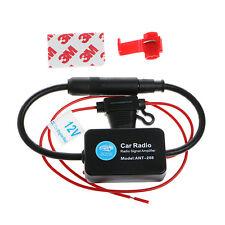 12V 25dB ANT-208 Car Radio FM Amplificateur d'antenne Booster indicateur Modèle