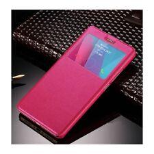 Funda libro Samsung Galaxy A5 2017 Rosa cartera ventana coque cuero Case