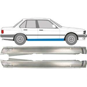 BMW 3er 3 E30 1982-1994 4 Tür Voll Schweller Reparaturblech / Paar
