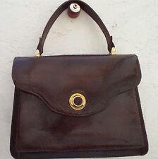 AUTHENTIQUE  sac à main en reptile  BEG vintage bag