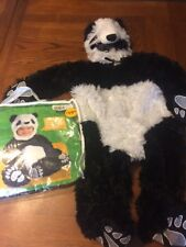 Baby PANDA COSTUME Animal planet Infant 12-18 months Warm Cuddly