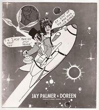 Jay Palmer & Doreen Next Stop The Moon 8 x 10 photo