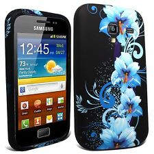 STYLISH SILICONE GEL CASE COVER SKIN FOR SAMSUNG GT-I8160 GALAXY ACE 2
