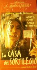 VHS: LA CASA DEL SORTILEGIO - regia: Umberto Lenzi    - nuova e sigillata