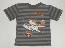 "DISNEY STORE Kids Boys ""Piston Peak Fire Dept."" Gray Graphic T-Shirt Size XS (4)"