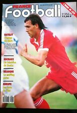 FRANCE FOOTBALL 1/9/1987; Hateley/ PSV Eindhoven-Ajax/ Dynamo Berlin/ Monceau