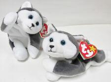 Ty - Beanie Baby * Nanook, the Husky (Dog) * PRISTINE NEW, MINT w/ MINT TAGS