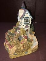 1987 Retired Lilliput Lane SECRET GARDEN Cottage House Cumbria England MINT JO