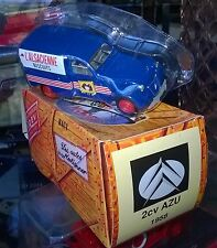 NOREV HACHETTE CITROEN 2CV AZU L'ALSATIAN 1958 New + shell + box