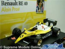 RENAULT RE40 FORMULA 1 RACING MODEL CAR ALAIN PROST 1:43 SCALE ONE 1983 K8Q