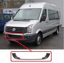 NEW VOLKSWAGEN CRAFTER FRONT BUMPER LOWER CENTER GRILL FRAME BLACK 2006 - 2017