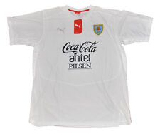 Seleccion Uruguay Soccer National Player Issue Practice Shirt PUMA XL white
