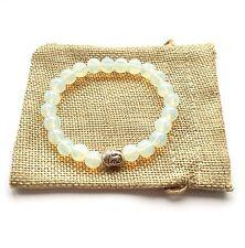 Opalite Buddha Bracelet Reiki Chakra Healing Spiritual Gift