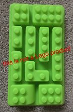 Block Style Building Brick Silicone Cake Mould Mold Not Lego New Uk Seller