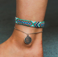 Foot Chain Jewelry Ankle Bracelet Turquoise Barefoot Sandal Beach Anklet