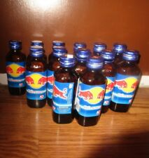 13 Red Bull Energizer Made in Thailand Glass  EMPTY Bottles
