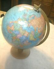 "Cram's Imperial World Globe - 17.5"" tall and 12 inches across"