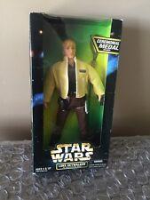 """Hasbro Star Wars 12"""" Luke Skywalker in Ceremonial Gear with Medal New In Box"""