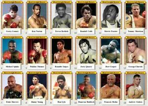 Heavyweight Boxers Trading Cards inc Cooney Golota Shavers Spinks Norton Berbick