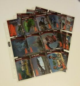 Thunderbirds Series Trading Card Mini Base Set (Unstoppable, 2018)