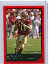 Alex Smith 06 Bowman RED PARALLEL Card TRUE 1/1 Topps 1/1 Hologram On Back 49ers