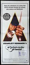 CLOCKWORK ORANGE Vintage Original Daybill Movie Poster Stanley Kubrick