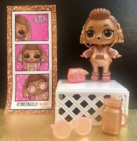 LOL Surprise GOLD Limited Edition Doll INSTAGOLD & Accessories RARE NEW L.O.L.