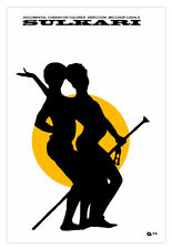 Cuban movie Poster for Cuba film SULKARI.Sexy Dance art.Home room design art