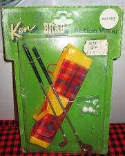 "1970 NEW VTG.~KEN+BRAD ACTION WEAR PAK~""GOLF GEAR""~NRFP~8684~JAPAN~NON-PLAY~MINT"