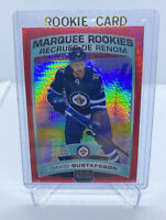 2019/20 UD OPC O PEE CHEE PLATINUM DAVID GUSTAFSSON ROOKIE RED PRISM #d /199 157
