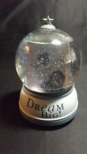 """Musical Your Picture Snow Globe Dome """"Dream Big"""" Works - Fits 5X10.2 Cm Picture"""