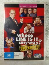 Whose Line is it Anyway Season 1 (DVD) Drew Carey - 7 HOURS ! Region 4 Australia