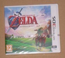 Legend of Zelda Ocarina Of Time Nintendo 3DS Oficial PAL Reino Unido NUEVA Cubierta Original