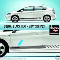 Rocker Panel Stripes fits Cars or Trucks UNIVERSAL DESIGN DECAL VINYL STICKER