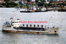 Brazilian dredger DRAGA BOA VIAGEM - Photo at Santos in 2003