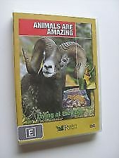 "Animals are amazing living at the edge (DVD) Region All ""NEW AND SEALED"""