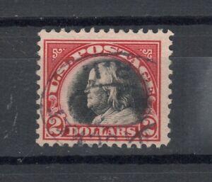 US Scott #547 Franklin $2 1920 Used F/VF!