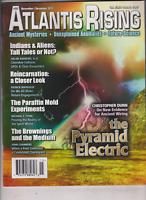 Atlantis Rising Mag The Pyramid Electric November/December 2011 013120nonr