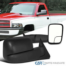 Dodge 94-01 Ram 1500 94-02 Ram 2500 3500 Manual Flip Up Trailer Towing Mirrors