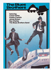 The BLUES BROTHERS carte postale n° U374 John BELUSHI Dan AYKROYD