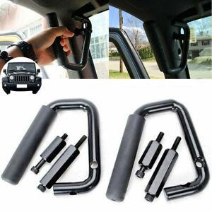 Front Grab Handles Grip Handle Grab For Jeep Wrangler JK 2007-2018 Accessories