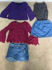 Women's / Juniors Clothing Lot Sizes P Small And Mediums