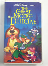 THE GREAT MOUSE DETECTIVE (Walt Disney Classic Clamshell) ~ VHS (G Rated) ~ 1986