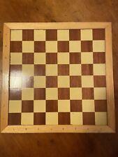 Schachspiel - Mühle - Holz - Mit Figuren Und Kasten