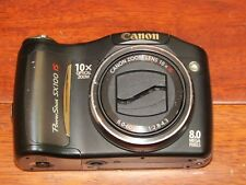 Canon PowerShot SX100 IS 8.0MP Digital Camera AS-IS FOR PARTS