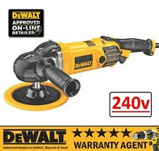 DeWALT DWP849X 1250W 240V 180MM Premium Variable Speed Polisher NEW