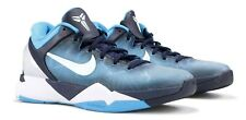 Size 8 Nike Zoom Kobe 7 System 'Shark' Blue White 488371-401 | Great Condition