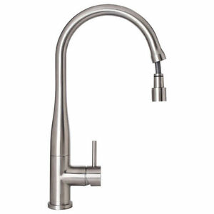 BRAND NEW - Stainless Steel Pull Out Mixer Tap for kitchen/laundry - WELS Rated
