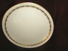 "Franciscan China Arcadia Gold 13"" Round Platter Chop Plate California MINT! @25"